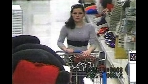 If anyone can identify the female suspect in the photo call CPD Detective Shaw at 931.648.0656 Ext 5389 or the CrimeStoppers TIPS Hotline at 931.645.TIPS (8477).