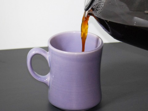 Coffee being poured. (American Heart Association)