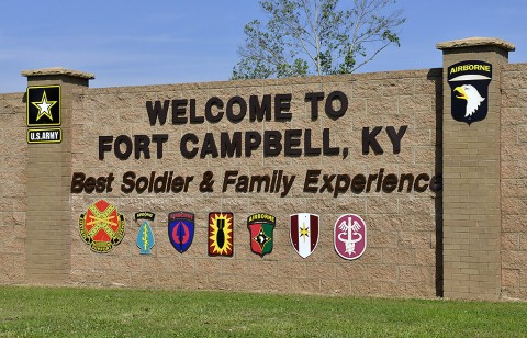 "Fort Campbell is home to the 101st Airborne Division (Air Assault) ""Screaming Eagles"". (Sam Shore)"