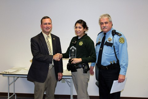 Deputy Jayme DeLarosa, Elementary School School Resource Officer of the Year.