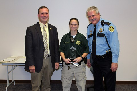 Deputy Tammy Axley, High School School Resource Officer of the Year.