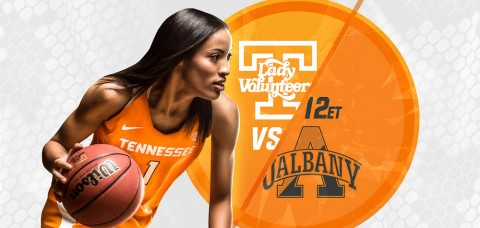 UT Lady Vols, UAlbany Great Danes Meet In Battle Of Undefeated Teams. (UT Athletics Department)