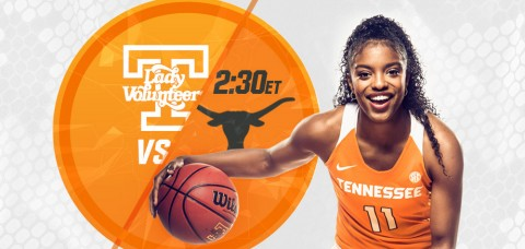Tennessee Lady Vols Basketball take on Texas Longhorns Sunday afternoon. (UT Athletic Department)