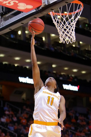 Tennessee Womens Basketball's Diamond DeShields posted her second double-double (24 points, 11 rebounds). (Randy Sartin-USA TODAY Sports)