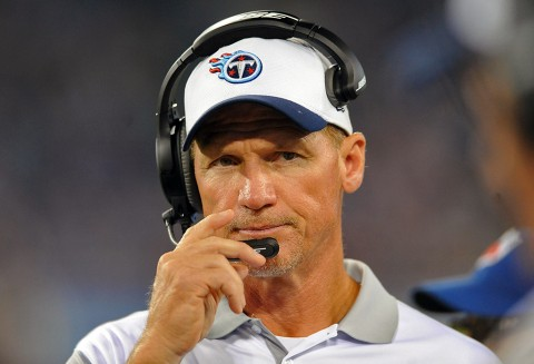 Ken Whisenhunt was releived of his head coaching duties this morning by the Tennessee Titans.(Christopher Hanewinckel-USA TODAY Sports)