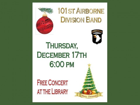 101st Airborne Division Band to perform Holiday Concert