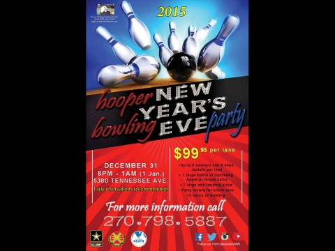 2015 Hooper Bowling Center New Years Eve