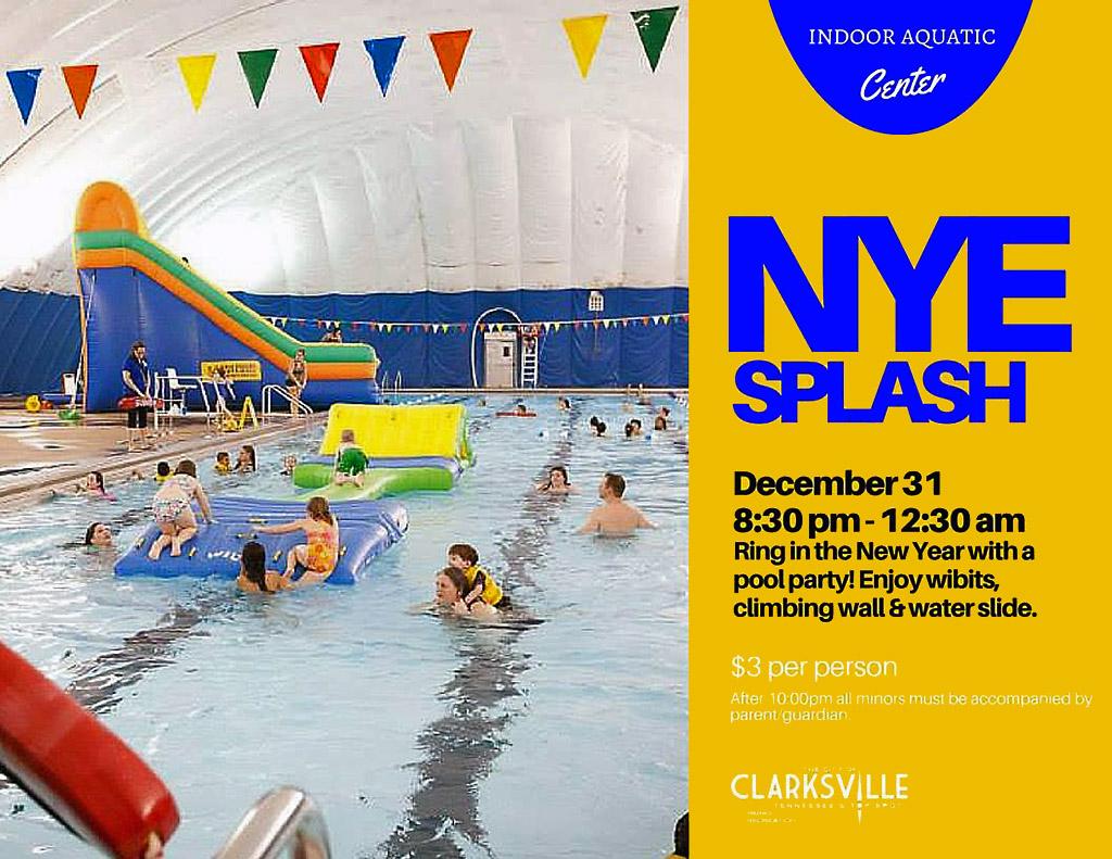 2015 New Year's Eve Splash
