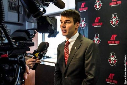 Austin Peay State University Football head coach Will Healy. (APSU Sports Information)