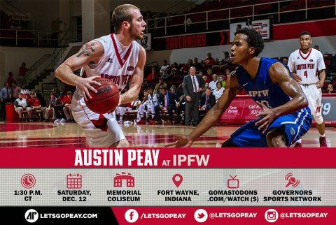 Austin Peay Men's Basketball are on the road Saturday for rematch with IPFW. (APSU Sports Information)