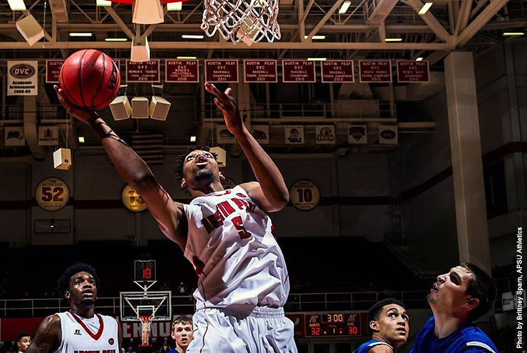 Austin Peay center Chris Horton gets career-high 28 in loss at North Florida. (APSU Sports Information)