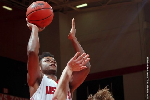 Austin Peay Men's Basketball ends 2015 with 112-61 win over Westminster Wednesday night at the Dunn Center. (APSU Sports Information)