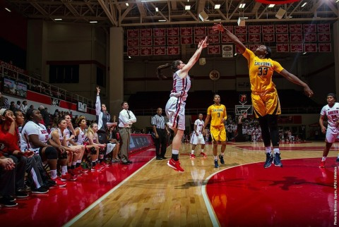 Austin Peay Women's Basketball fall at Arkansas State Wednesday afternoon, 66-55. (APSU Sports Information)