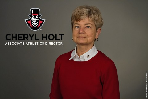 Austin Peay Associate Athletic Director Cheryl Holt. (APSU Sports Information)