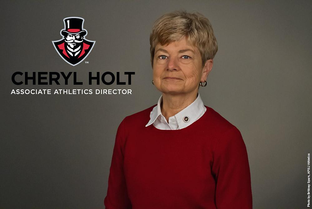 Austin Peay Associate Athletic Director Cheryl Holt. (APSU Sports Information)