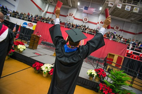 Austin Peay State University Winter Commencement Ceremony set for Friday, December 11thm 2015. (Beth Liggett, APSU)