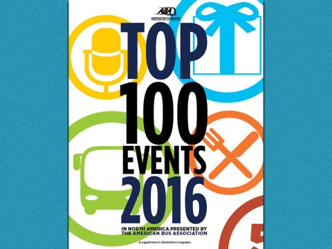 American Bus Association Top 100 Events in North America
