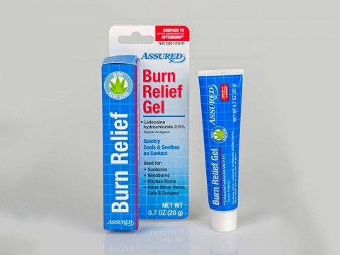 Assured Burn Relief Gel is being recalled by Dollar Tree because the packaging is not child resistant.
