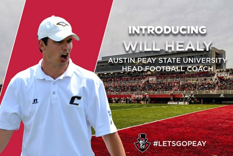 Austin Peay State University names Will Healy next APSU Football Coach