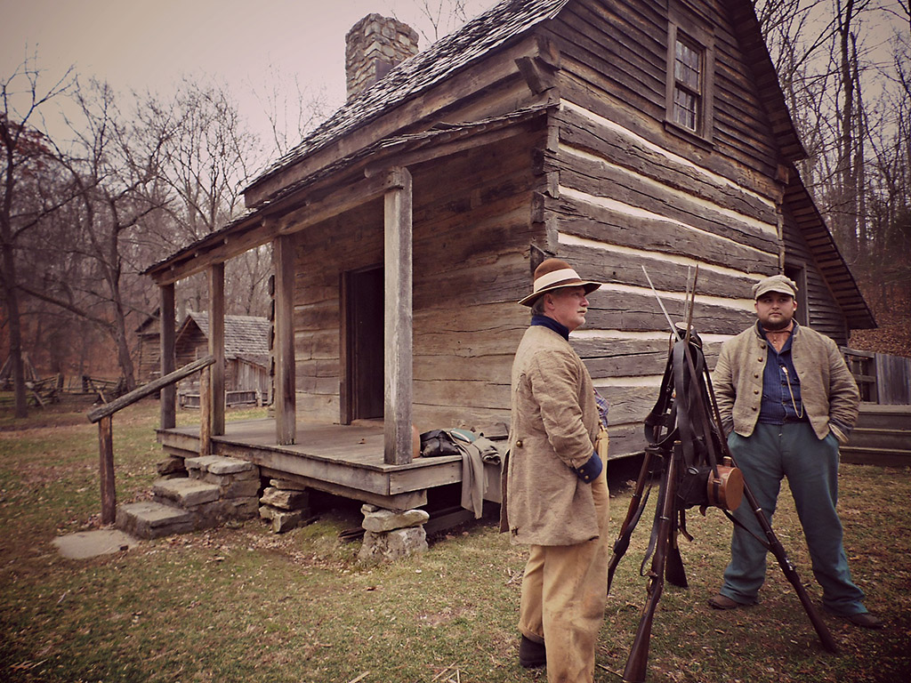 Civil War Comes To The Homeplace 1850s Farm At Land Between The Lakes Clarksville Tn Online
