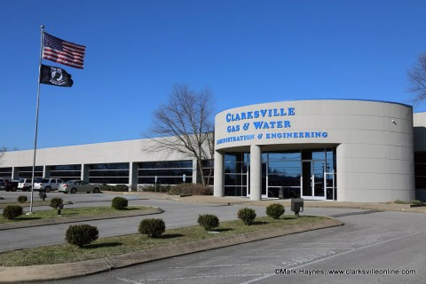 Clarksville Gas and Water Department to be out Saturday, January 30th reading meters from 7:00am until 3:30pm.