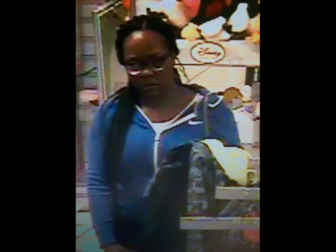 Clarksville Police identify female suspect in JC Penny incident as 32-year-old Quanta Nicole Burse from Hopkinsville Kentucky.