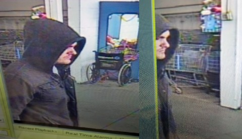 If anyone can identify the male suspect in these photos please call Detective Bartel at 931.648.0656 Ext 5144 or the CrimeStoppers TIPS Hotline at 931.645.TIPS (8477).