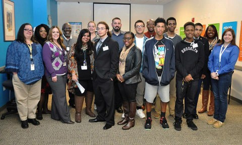 LEAP Career Readiness Program participants visit Convergys.
