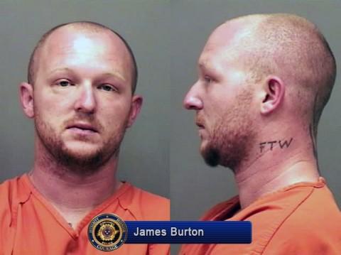 James Jarid Burton of Dyersburg, TN arrested for this mornings shooting on Riverside Drive