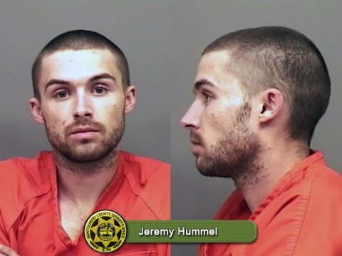 Escaped inmate Jeremy Hummel captured.