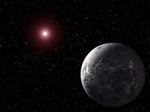 Fictional Hoth is a frozen tundra that briefly serves as a base for the hidden Rebel Alliance. It's also the nickname of real exoplanet OGLE-2005-BLG-390, a cold super-Earth whose surface temperature clocks in at minus 364 degrees Fahrenheit (minus 220 Celsius). (NASA, ESA and G. Bacon (STScI))