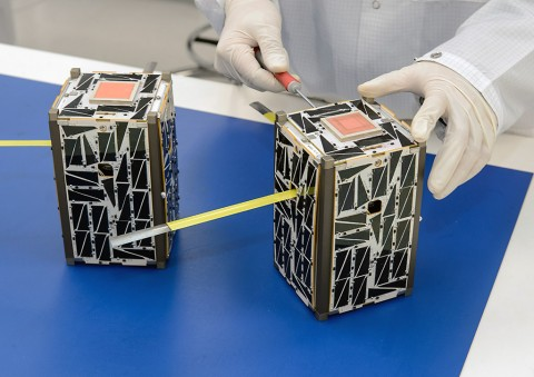 NASA Small Satellites to Demonstrate Swarm Communications and Autonomy. (NASA)