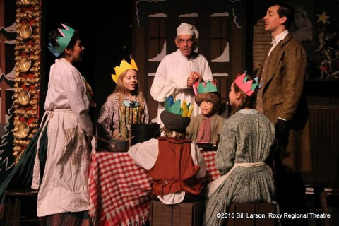 "Clarksville's Roxy Regional Theatre ""A Christmas Carol"" final two performances are tonight, Friday, December 18th at 8:00pm and Saturday afternoon, December 19th at 2:00pm."