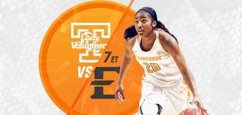 Tennessee Women's Basketball take on East Tennessee State at Thompson-Boling Arena Wednesday. (UT Athletics Department)