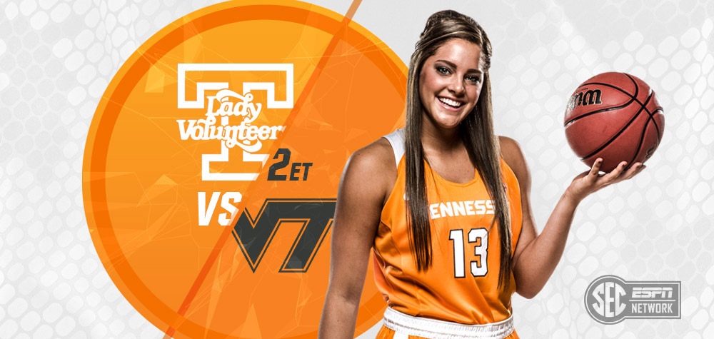 A Pair Of 6-1 Teams Battle As UT's Lady Vols Eight-Game Home Stand Concludes On Sunday. (UT Athletics Department)