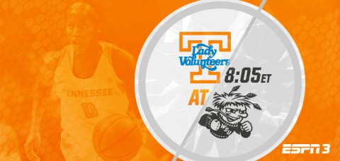Tennessee Women's Basketball Hits Road For First Time In 2015-16 Season, Taking On Wichita State Shockers. (UT Athletics Department)