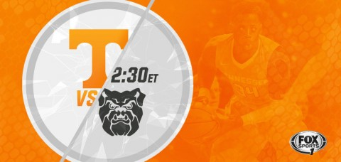 The Tennessee Vols and Butler Bulldogs tip off Saturday at 2:30pm ET on Fox Sports 1. (UT Athletics Department)
