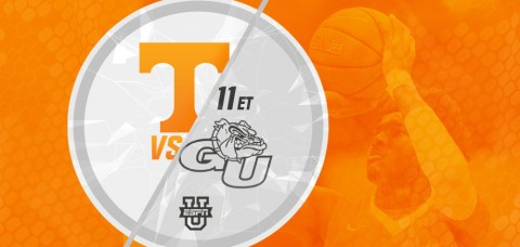 The Vols and Zags square off in the 13th edition of the Battle in Seattle at 10:00pm CT Saturday night. (UT Athletics Department)