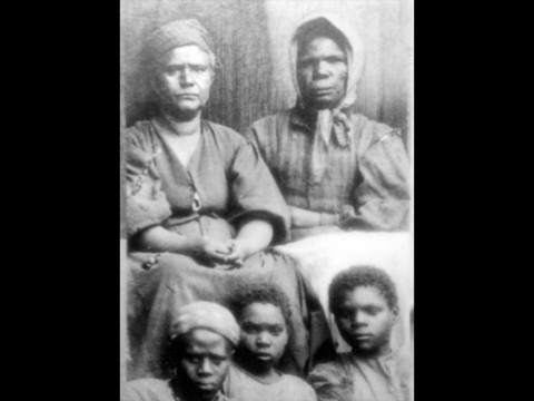 Unknown Slave Women and children