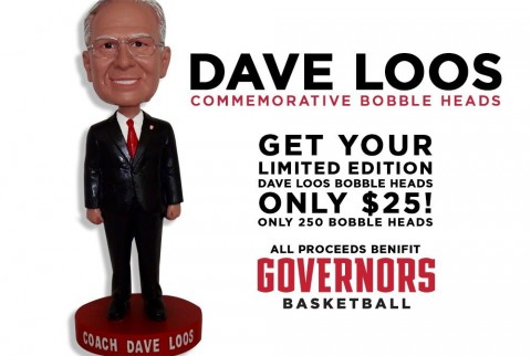 APSU Dave Loos Bobble Heads now on sale. (APSU Sports Information)