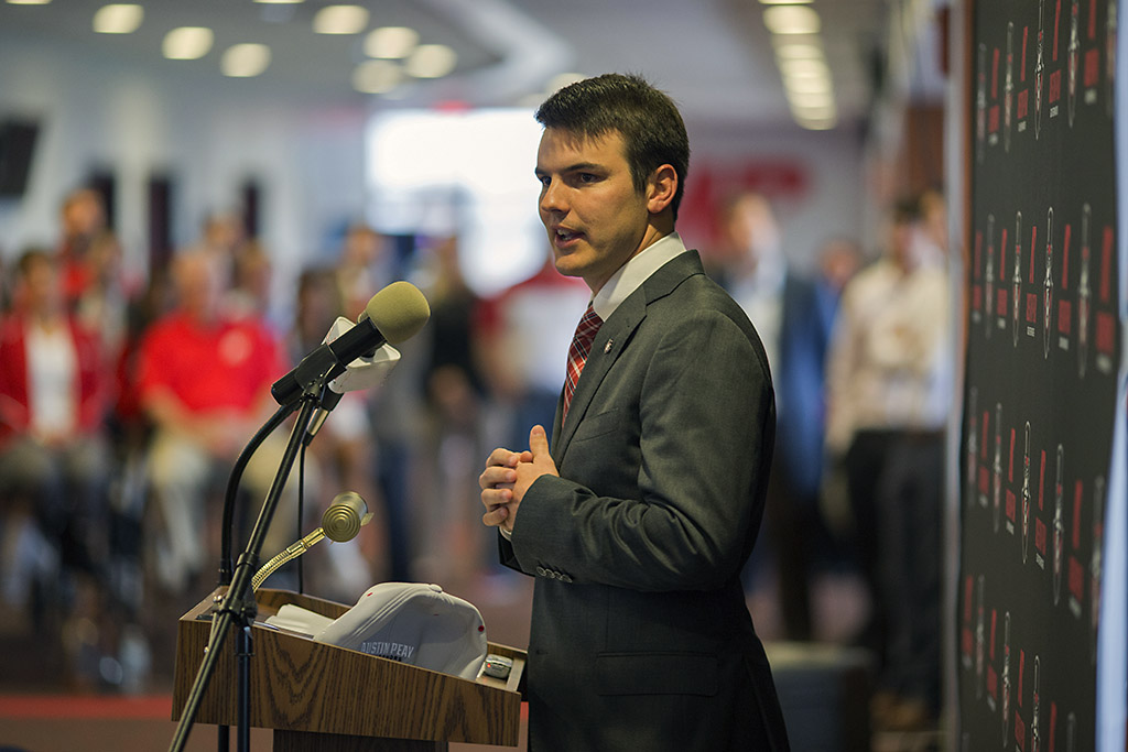 APSU Football head coach Will Healy. (Austin Peay State University)