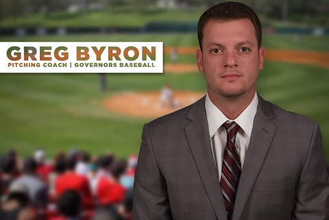 Greg Byron hired as Austin Peay Baseball pitching Coach. (APSU Sports Information)