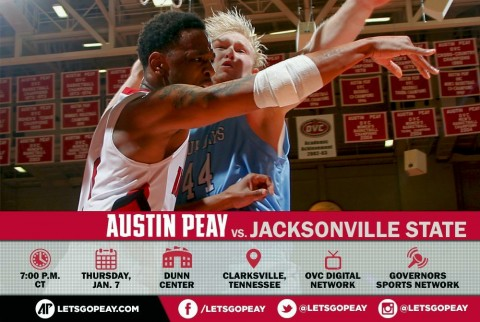 Austin Peay Men's Basketball face Jacksonville State at home Thursday. (APSU Sports Information)