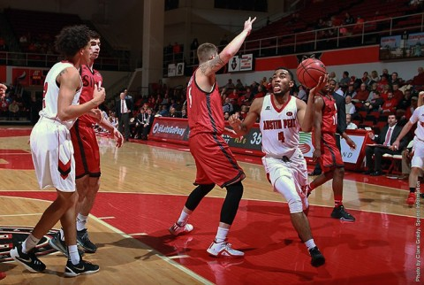 Austin Peay sophomore guard Josh Robinson scored a career-best 39 points in win over SIUE Thursday night. (APSU Sports Information)