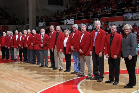 Austin Peay Red Coat Society inductions postponed to February 27th, 2016. (APSU Sports Information)