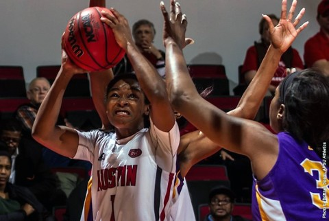 Austin Peay Women's Basketball beats Tennessee Tech Golden Eagles 91-75 Saturday. (APSU Sports Information)