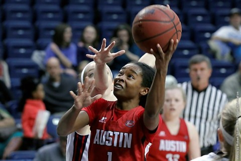 Austin Peay's Tiasha Gray scores career 38 points in Lady Govs loss to Belmont. (APSU Sports Information)