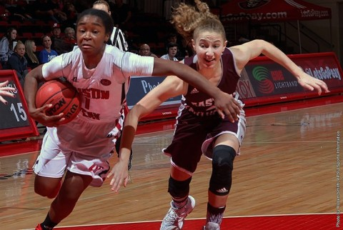 Austin Peay Women's Basketball beats Morehead State easily Wednesday night, 96-75. (APSU Sports Information)