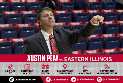 Austin Peay Lady Govs host Eastern Illinois Saturday. (APSU Sports Information)