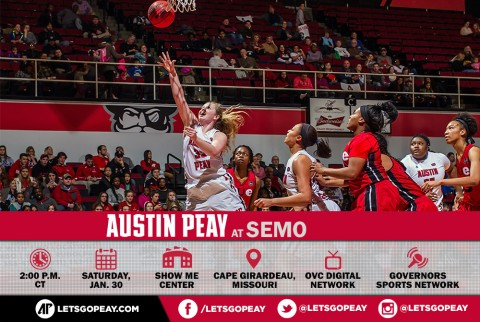 Austin Peay Women's Basketball is on the road Saturday to face Southeast Missouri. (APSU Sports Information)
